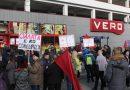 Протест за нелегално отпуштената работничка во ВЕРО