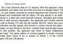 Ел Масри кој беше уапсен во Македонија и предаден на ЦИА спречен да сведочи во одбрана на Асанж