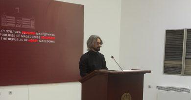 """Апасиев од Парламент: """"Поднесовме предлог Декларација за осуда на бугарските национал-шовинистички претензии"""""""