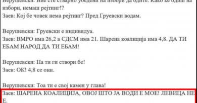 Заев во снимката со Верушевски ја негира сета клевета за Левица